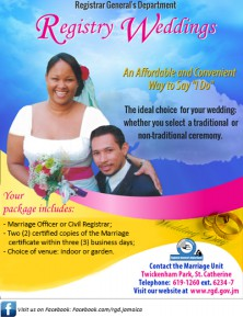 Wedding Register Promotion